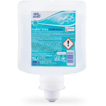 Deb Stoko® OxyBac Extra Foam Wash Cremiger Schaumhandreiniger