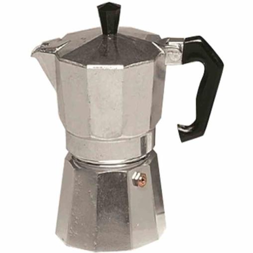 KRÜGER Italiano Aluminium Espressokocher