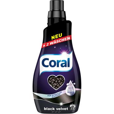 Coral Black Velvet Flüssigwaschmittel