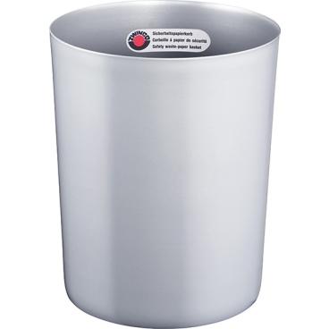 Zwingo Sicherheitspapierkorb mit Alu-Einsatz, 20 Liter