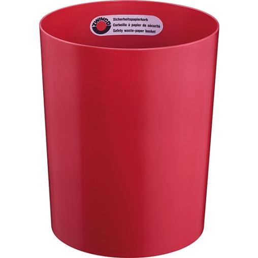 Zwingo Sicherheitspapierkorb, 13 Liter