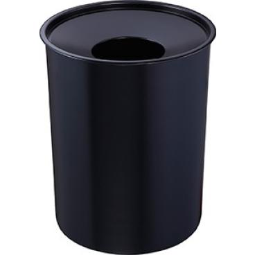 Zwingo Sicherheitspapierkorb aus Stahl, mit Löschkopf, 6 Liter