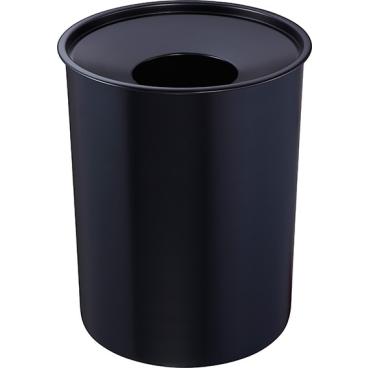 Zwingo Sicherheitspapierkorb aus Stahl, mit Löschkopf, 13 Liter