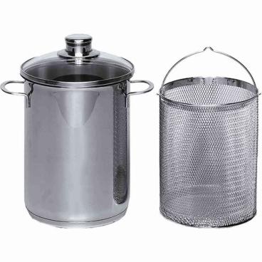 KRÜGER Spargel-/Spaghettitopf, 4 Liter
