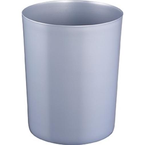 Zwingo Sicherheitspapierkorb aus Stahl, 6 Liter