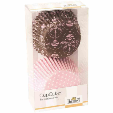 Birkmann La bella Rose Easy Baking CupCake-Papierförmchen