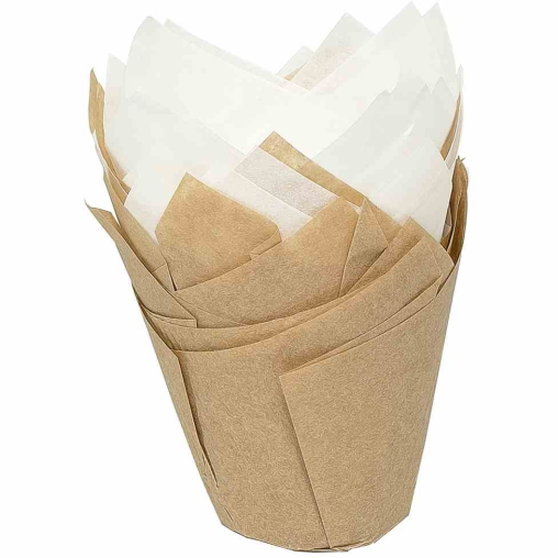 Birkmann Easy Baking Tulpen-Papierbackförmchen