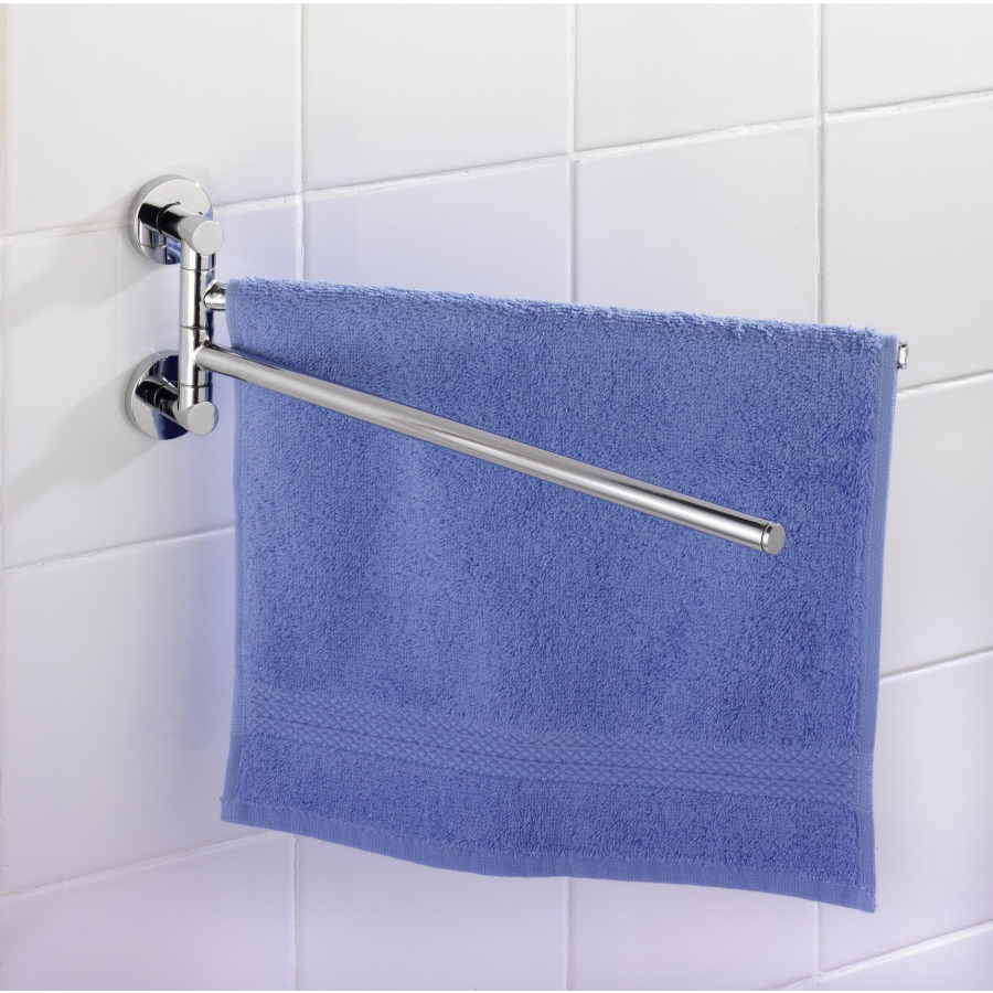 WENKO Elegance Power Loc Handtuchhalter Farbe Chrom