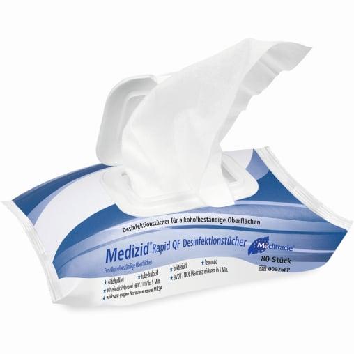 Meditrade Medizid® Rapid QF Desinfektionstücher