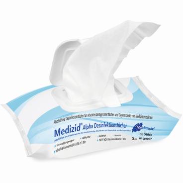 Meditrade Medizid® Alpha Desinfektionstücher