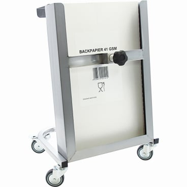 SCHNEIDER Fahrgestell für Backtrennpapier, Edelstahl