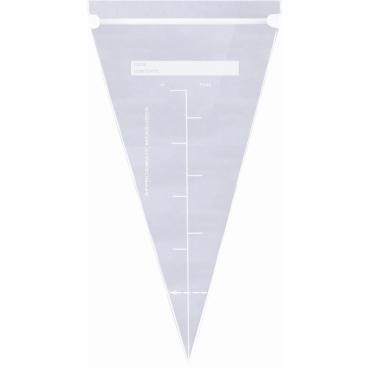 SCHNEIDER Einweg-Spritzbeutel mit ZIPPER Verschluss, 320 x 150 mm