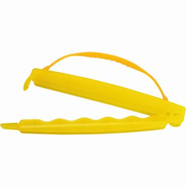 SCHNEIDER Verschluss-Clip, gelb, mit Griff