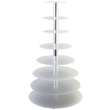 SCHNEIDER Etagen-Tortenständer, Aluminium