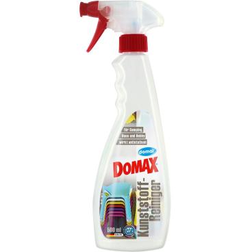DOMAX Kunststoffreiniger 500 ml - Flasche mit Sprühknopf