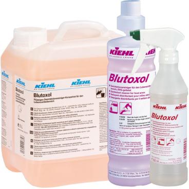 Kiehl Blutoxol Desinfektionsreiniger 2000 ml - Flasche (1 Karton = 3 Flaschen)