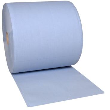 zetPutz Multiclean® Putztuchrolle, 3-lagig, blau 1 Paket = 1 Rolle