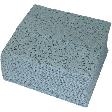 zetPutz Polytex® Naßwischtücher, blau, 40 x 42 cm 1 Karton = 12 x 35 Tücher = 420 Tücher
