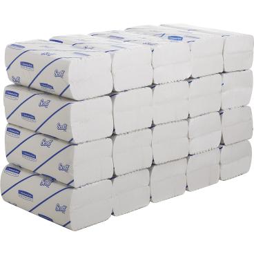 SCOTT® Excellent Plus Handtücher - Medium 1 Karton = 20 x 110 = 2.200 Tücher