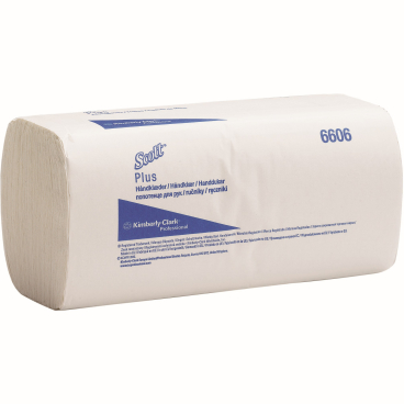 SCOTT® Plus Handtücher - Klein 1 Karton = 20 x 180 = 3.600 Tücher