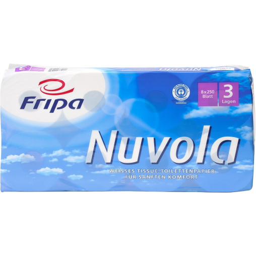 Fripa Nuvola Toilettenpapier, 3-lagig