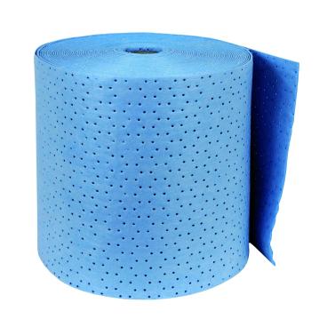 zetSorb® Ölsaugtuchrolle, blau 1 Paket = 1 Rolle, 40 cm breit