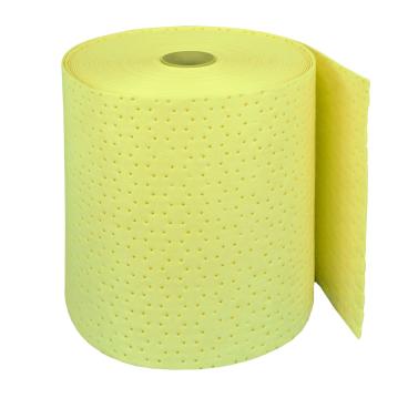 zetSorb® Universal-Saugtuchrolle, gelb 1 Paket = 1 Rolle, 40 cm breit