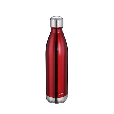 Cilio Elegante Isolierflasche, rot