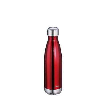 Cilio Elegante Isolierflasche, rot Volumen: 500 ml