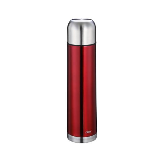 Cilio Colore Isolierflasche, rot