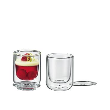 Cilio 2er Set Dessert & Vorspeisen Glas