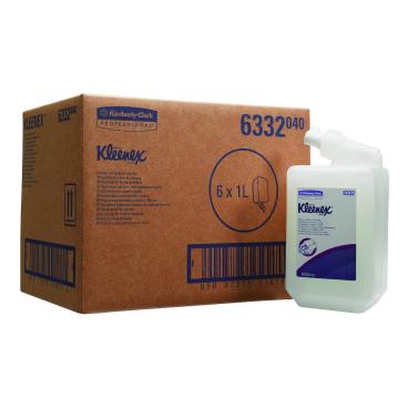 KLEENEX® Haar- und Körpershampoo 1 Karton = 6 Flaschen á 1000 ml