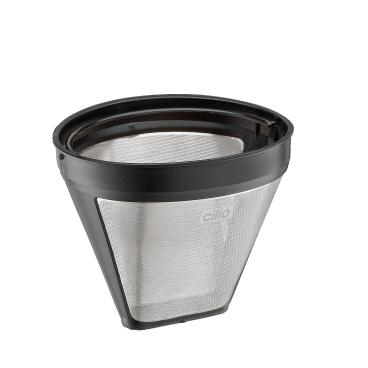 Cilio Edelstahl Dauerfilter für Kaffee