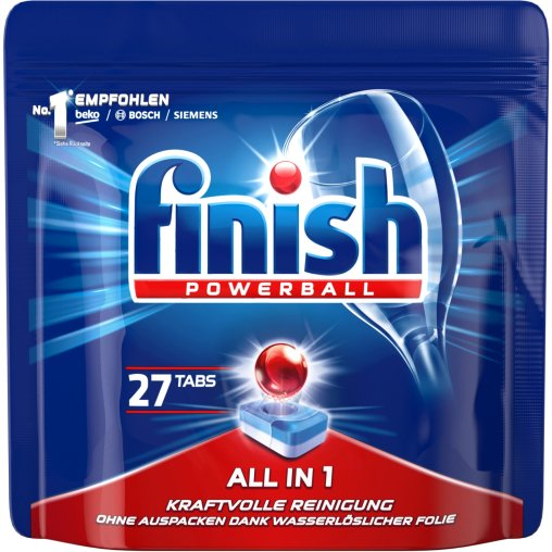 Finish Calgonit Powerball All in 1 Spülmaschinentabs