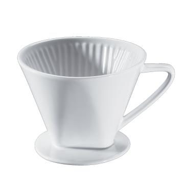 Cilio Kaffeefilter, weiß