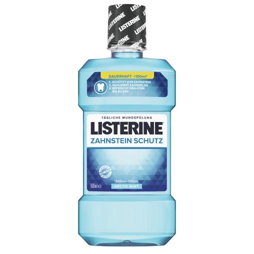 LISTERINE® Zahnsteinschutz Mundspülung