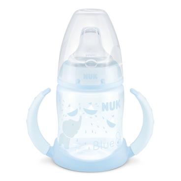 NUK Baby Blue First Choice Trinklernflasche, mit Griff Füllmenge: 150 ml
