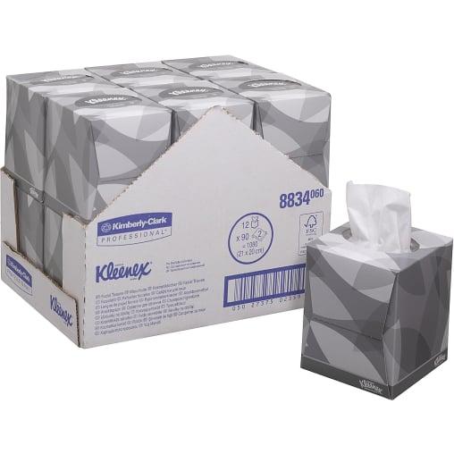 KLEENEX® Kosmetiktücher Würfel-Box