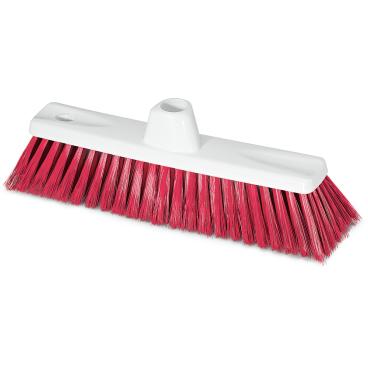 Stubenbesen nach HACCP Besatzfarbe: rot