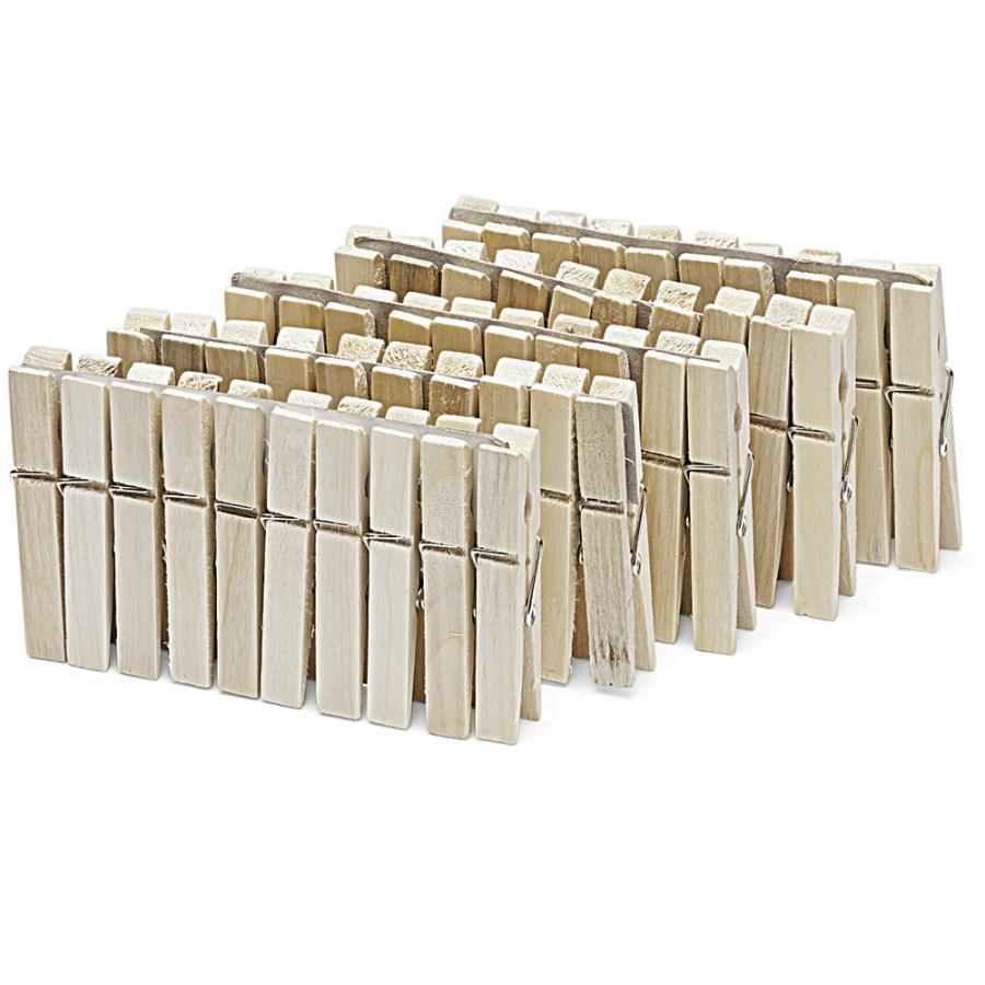Wäscheklammern Holz 50 Stück Im Polybeutel Online Kaufen Hygide