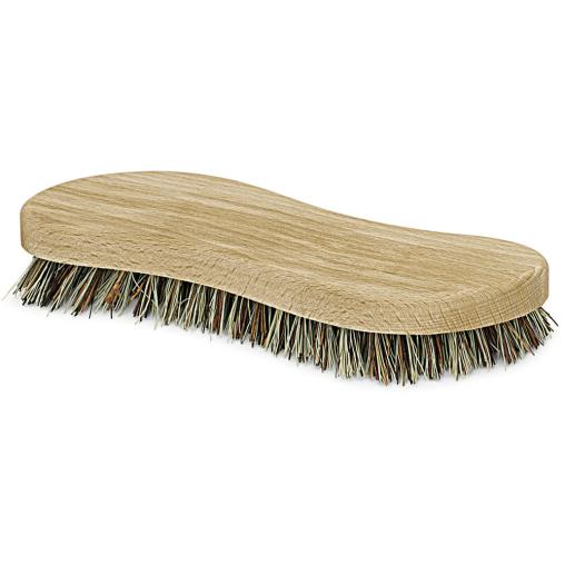 Holz-Scheuerbürste S-Form