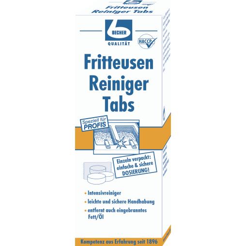 Dr. Becher Fritteusen Reiniger Tabs