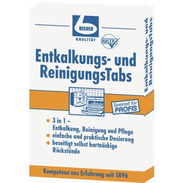 Dr. Becher Entkalkungs- und ReinigungsTabs 1 Packung = 8 Tabs