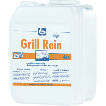 Dr. Becher Grill Rein Grillreiniger 5 Liter - Kanister