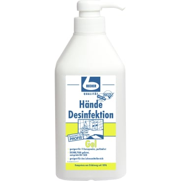 Dr. Becher Hände Desinfektion Gel 1 Liter - Dispenserflasche