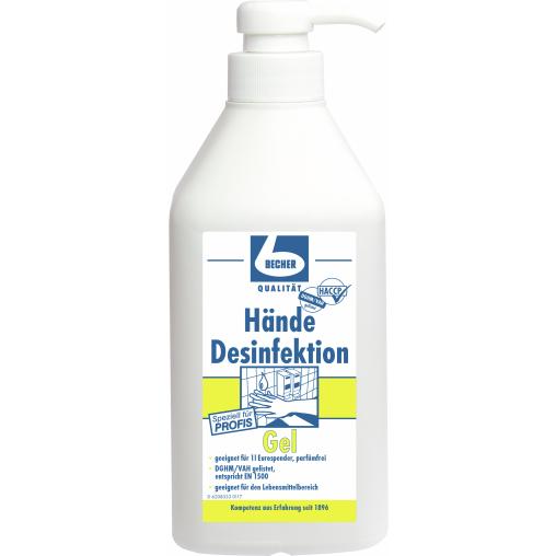 Dr. Becher Hände Desinfektion Gel