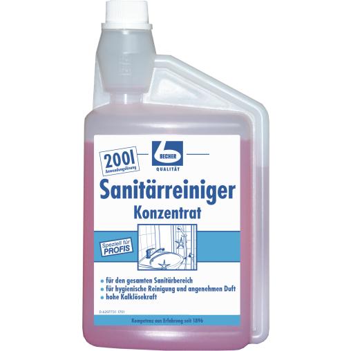 Dr. Becher Sanitärreiniger Konzentrat