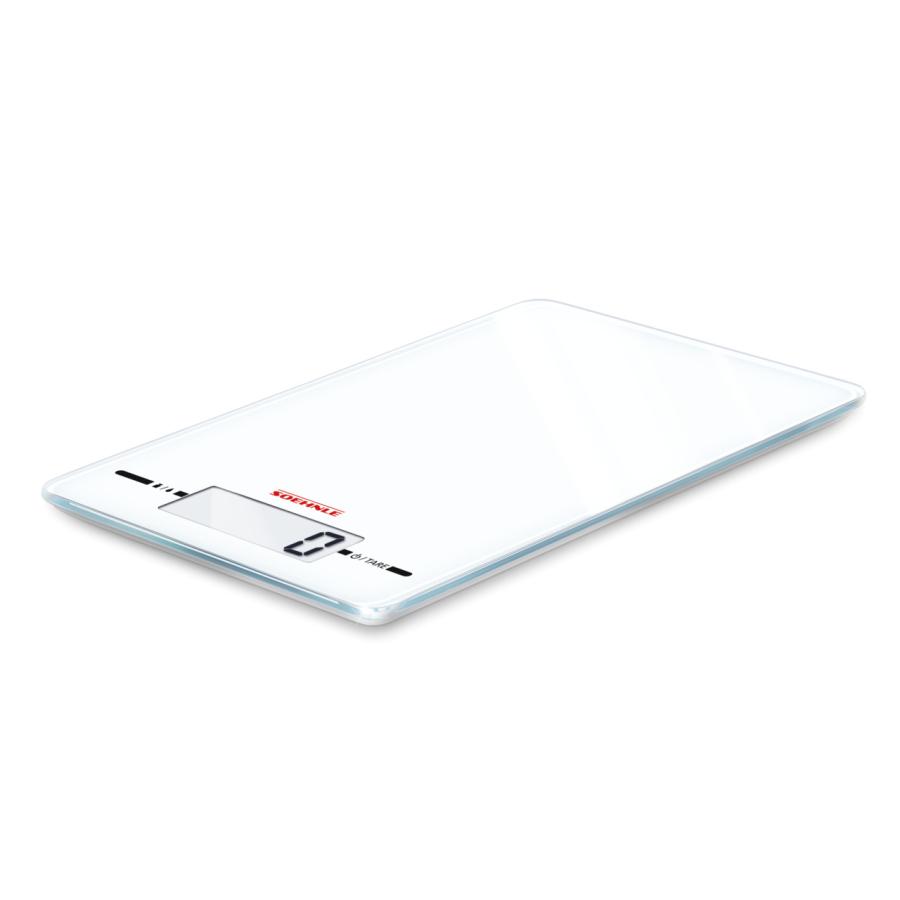 Soehnle Gastro Page Evolution Steel Küchen-Waage bis 5Kg Weiß NEU
