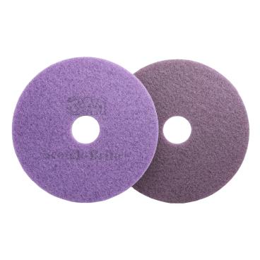 3M Scotch-Brite™ Diamant Maschinenpad Plus Violett Ø 430 mm