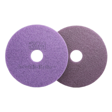 3M Scotch-Brite™ Diamant Maschinenpad Plus Violett Ø 430 mm